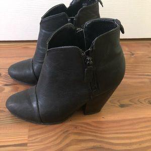Rampage black booties